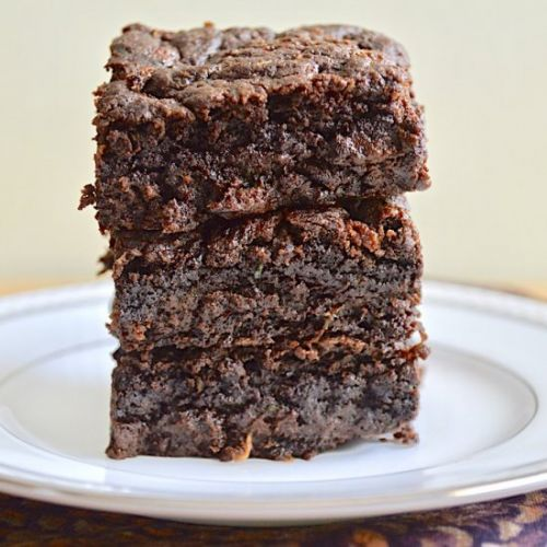 Fudgy Zucchini Brownies