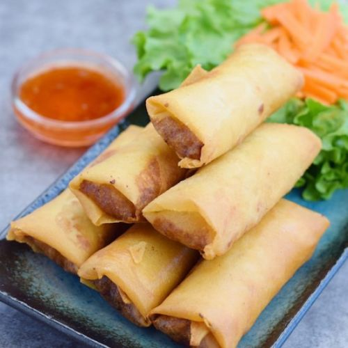 POH PIA TOD | Thai Pork Egg Roll
