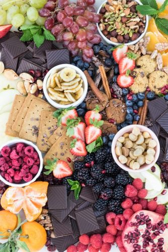 How to Make a Chocolate Dessert Board