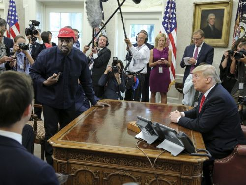 Kanye West's retro lunch with Donald Trump was a boring slice of white-bread America