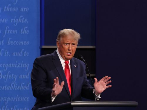 At Final Presidential Debate, President Trump Says NYC Restaurants Are 'Dying'