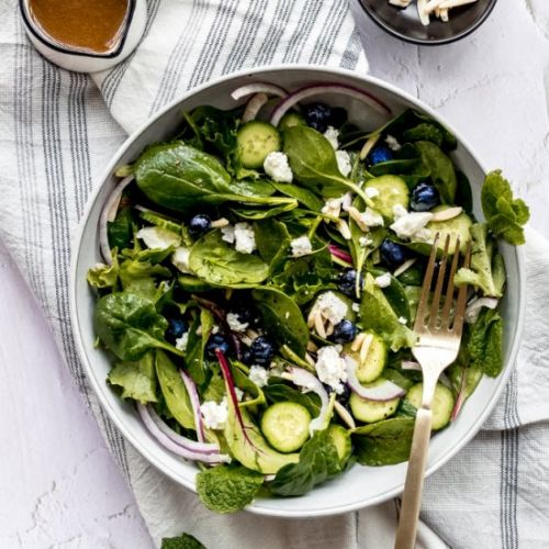 Antioxidant Rich Spinach and Bluebe