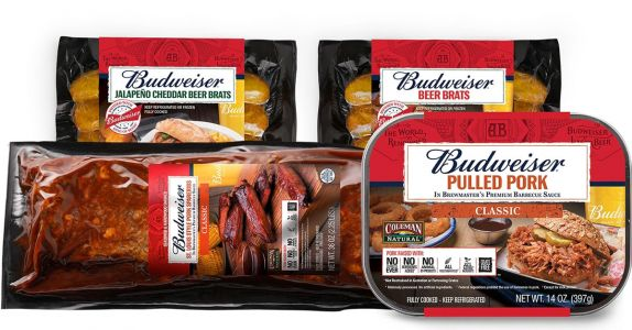 Budweiser and Coleman Target Millennials With 'Natural' Beer-Infused Meats