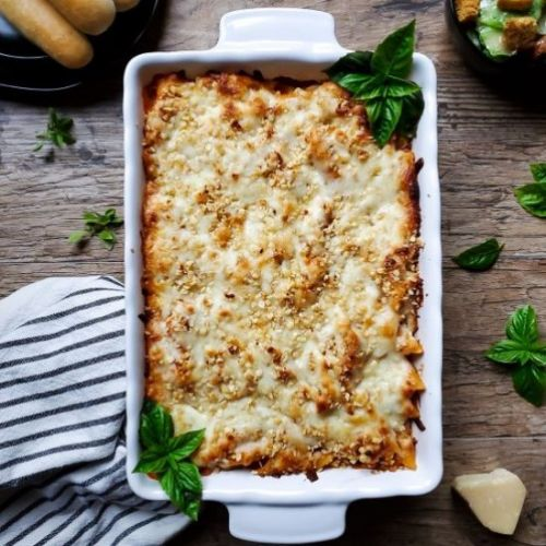 Five Cheese Baked Penne