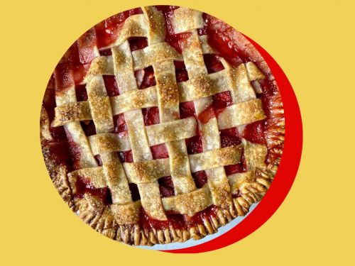 Make This Jammy Strawberry Lattice Pie From a Baking Show Champion