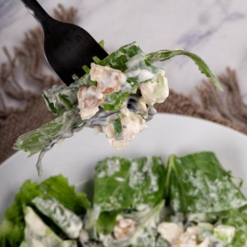 Healthy Waldorf Chicken Salad