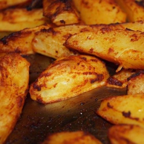 Smoky & Spicy Roasted Potatoes