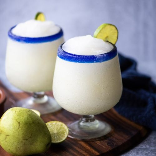 Frozen Pear Margarita Cocktail