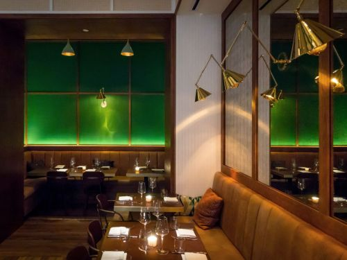 Emerald Green Is the New Restaurant Design Power Color