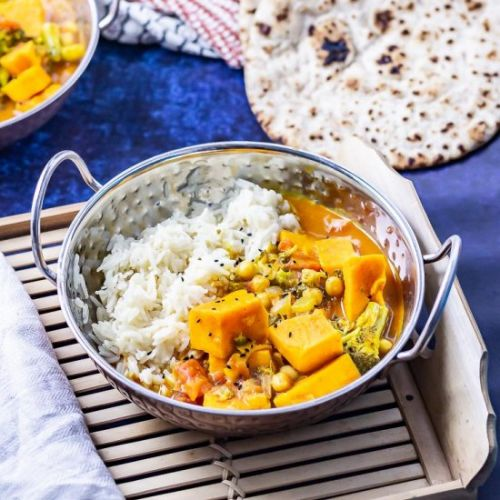 Vegan Pressure Cooker Coconut Curry