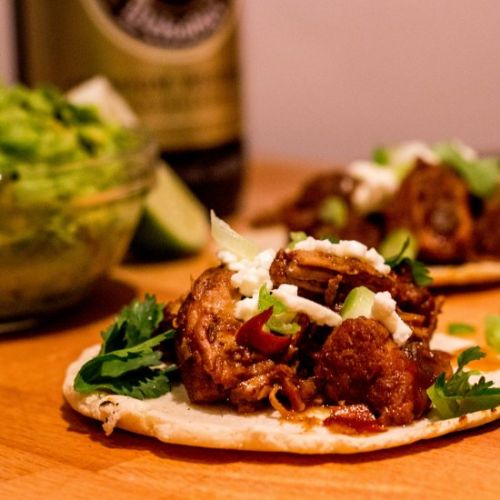 Beer and Pork Tacos