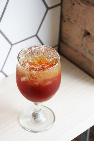 Metric Coffee's Cascara Fizz