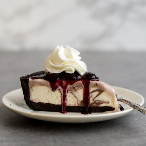 No Bake Ice Cream Pie