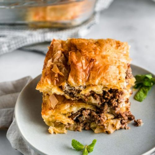 Egyptian Goulash- Phyllo Meat Pie
