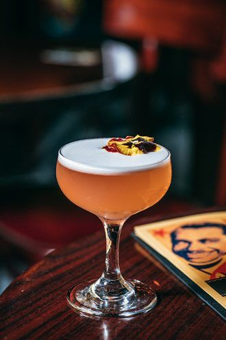 Mr. Pink: A Campari Sour Riff
