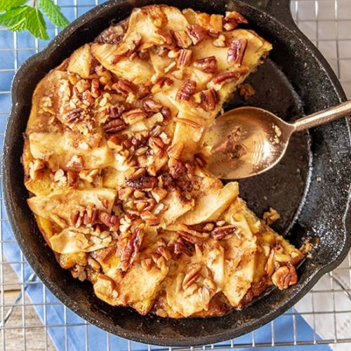 GF French Toast Apple Strata
