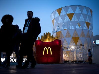 There's a McDonald's That Looks Just Like a Combo Meal at the Olympics