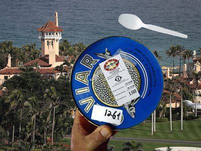 Mar-a-Lago Visitor Aghast at Caviar Served With Plastic Spoon