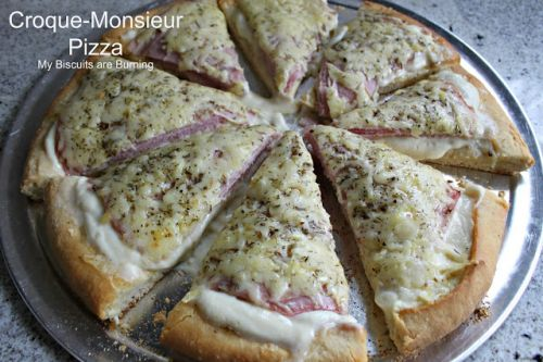 Croque-Monsieur Pizza