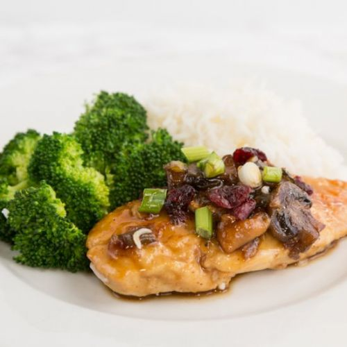 30-Minute Maple Cranberry Chicken