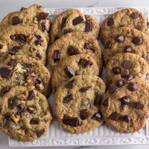 One Bowl Chocolate Chunk Cookies