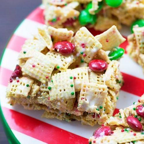 Christmas Crunch Cereal Bars