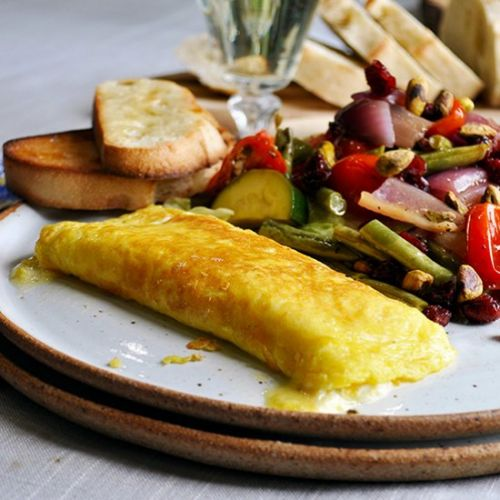 Perfect French Cheese Omelette