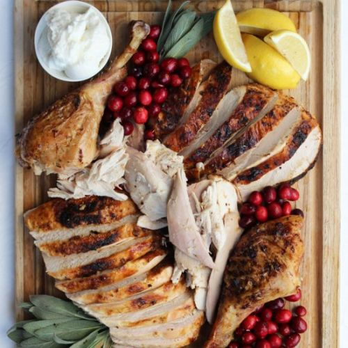 Oven Roasted Garlic Turkey
