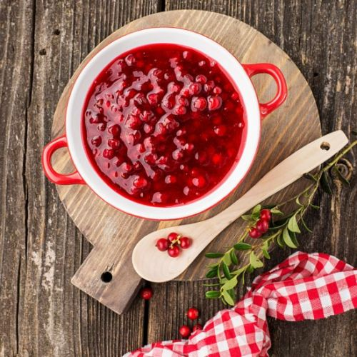 Honey Cranberry Relish