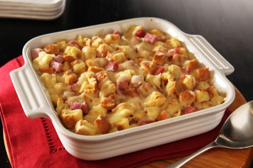 This awesome Monte Cristo Bake tastes like a mash-up between a