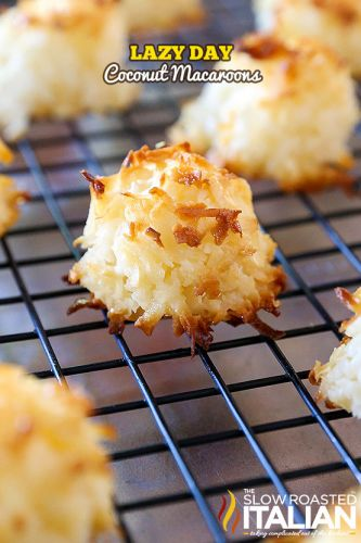 Lazy Day Coconut Macaroons