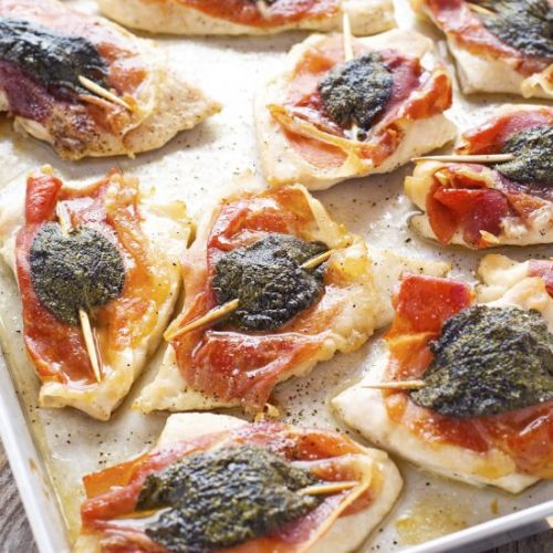 Sheet Pan Chicken Saltimbocca