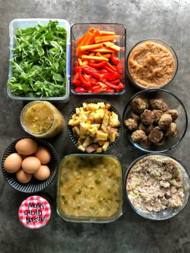 5 Things to Prep on Sunday to Eat Healthy Lunches all Week Long