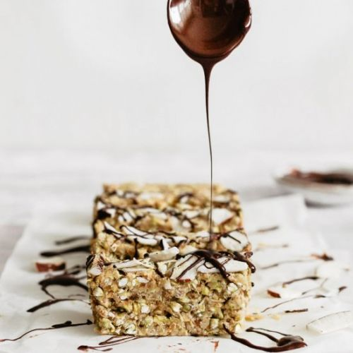 RAW BUCKWHEAT BARS / COCONUT LEMON