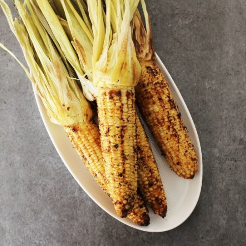 Spiced Grilled Corn on the Cob