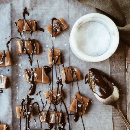 Chocolate Covered Beer Caramels