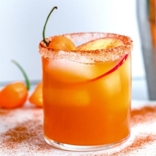 Habanero Apple Cider Cocktail