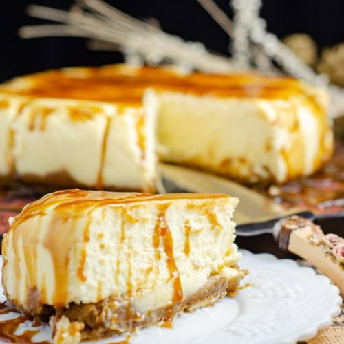 Butterscotch Blondie Cheesecake