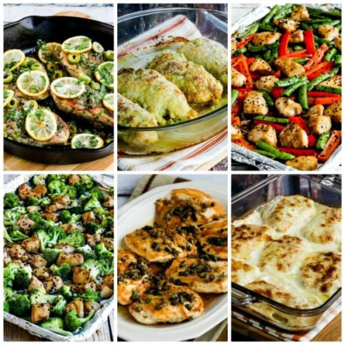 My Favorite Low-Carb and Keto Recipes Using Chicken Breasts