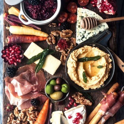 Holiday Cheeseboard