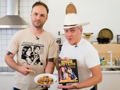 Watch: Making Venison Coca-Cola Stew From Ted Nugent's Cookbook