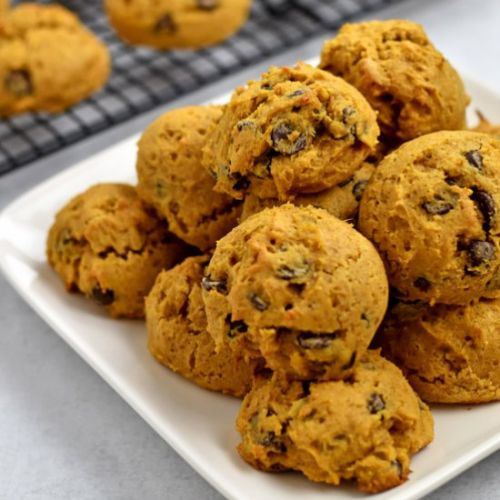 GF Chocolate Chip Pumpkin Cookies