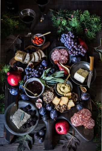 Winter Solstice Charcuterie Board