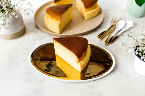 Fluffy Jiggly Cotton Cheesecake/Japanese Cheesecake Recipe
