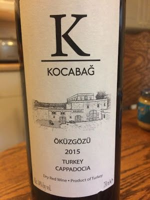 2015 Kocabağ Öküzgözü: Exploring Turkish Wine