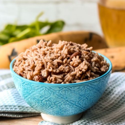 Instant Pot Haitian Rice And Beans