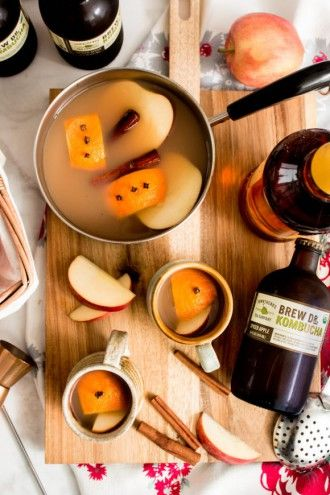 Drink of the Week: Spiced Apple Brew Dr. Kombucha