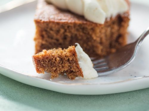 Gingerbread Sheet Cake With Cream Cheese Frosting