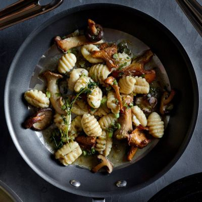 Gnocchi with Wild Mushrooms and Thyme