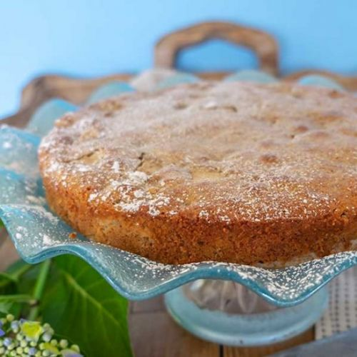Gluten-Free French Pear Cake
